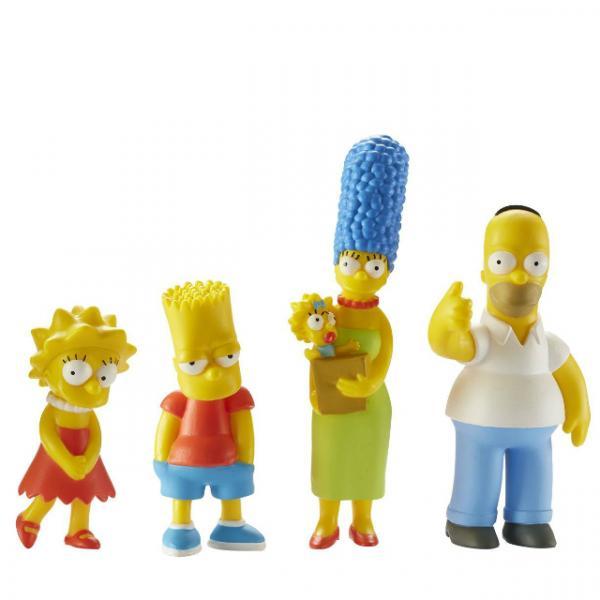Simpsons 4'lü Figür Seti