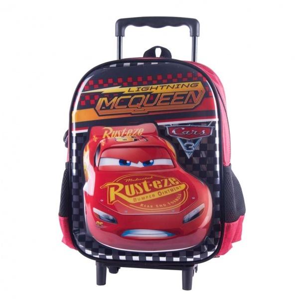 Cars Şimşek McQueen Çekçekli Anaokul Çantası 88948