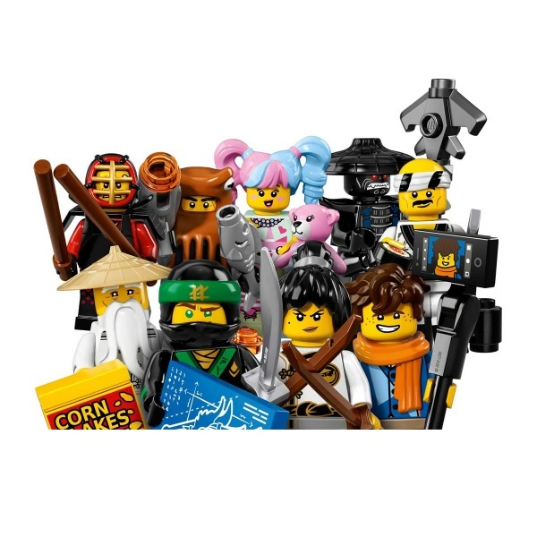 LEGO Ninjago Filmi Minifigürleri 71019