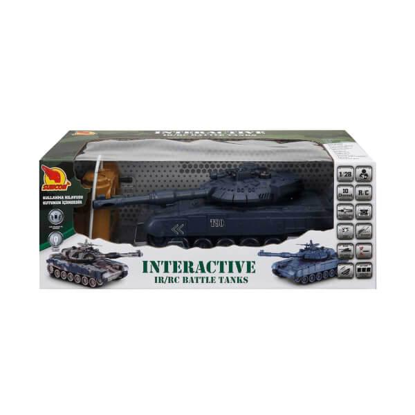 Uzaktan Kumandalı İnteraktif Tank
