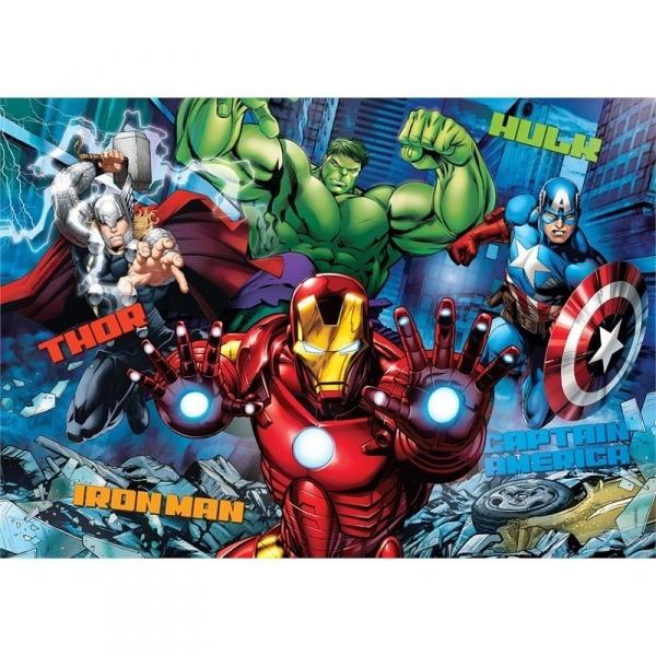 104 Parça 3D Puzzle : Avengers