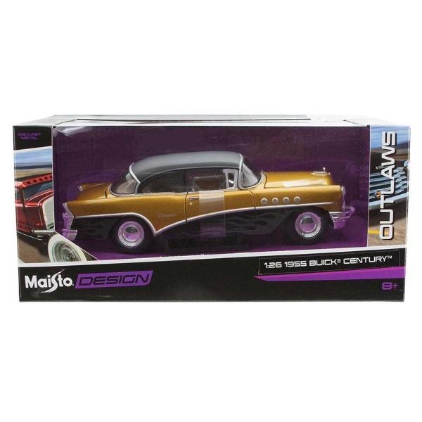 1:26 Maisto Buick Century 1955 Model Araba