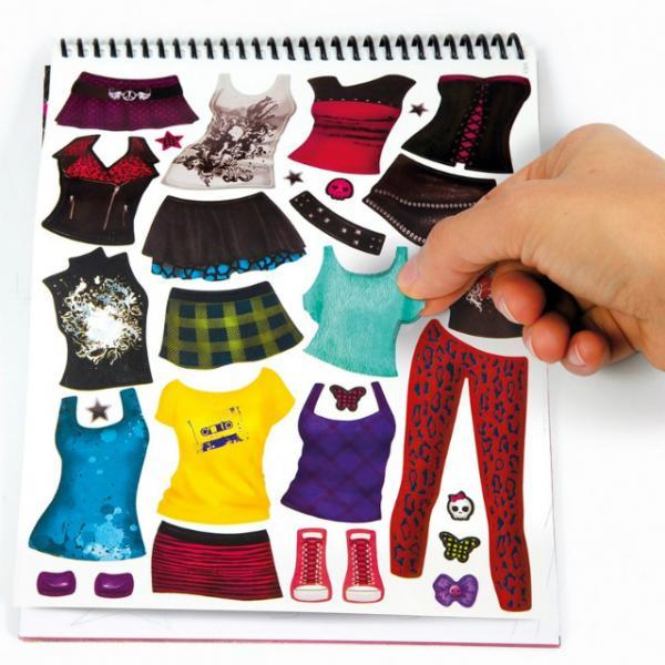 Rockn Roll Elbise Tasarım Defteri