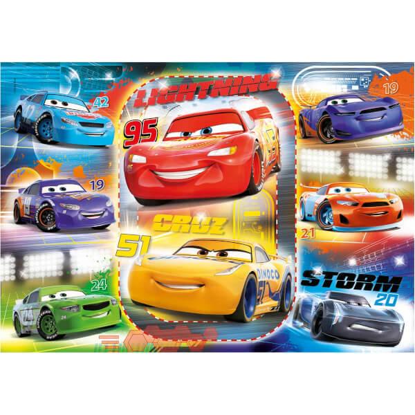 60 Parça Puzzle : Cars 3