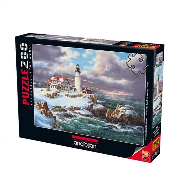 260 Parça Puzzle : Portland Deniz Feneri