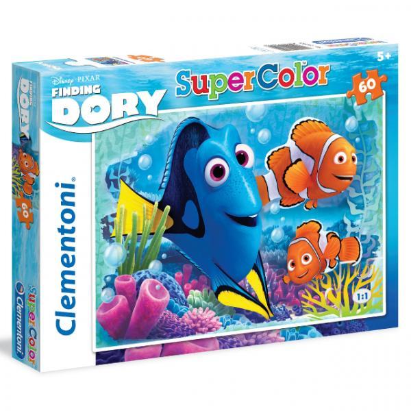 60 Parça Puzzle : Kayıp Balık Dori