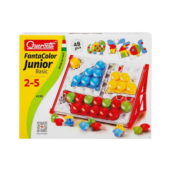 Quercetti Fantacolor Junior Basic 48 Parça