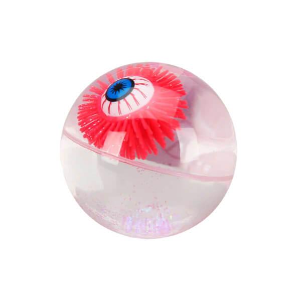 Şeffaf Sulu Işıklı Simli Top