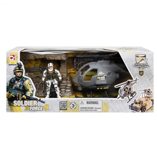Soldier Force Askeri Araçlı Oyun Seti