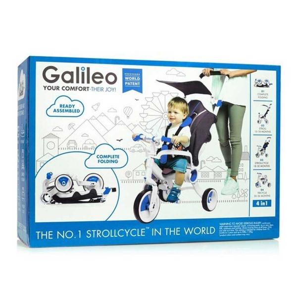 Galileo Strollcycle 4in1 Katlanabilen Mavi Bisiklet