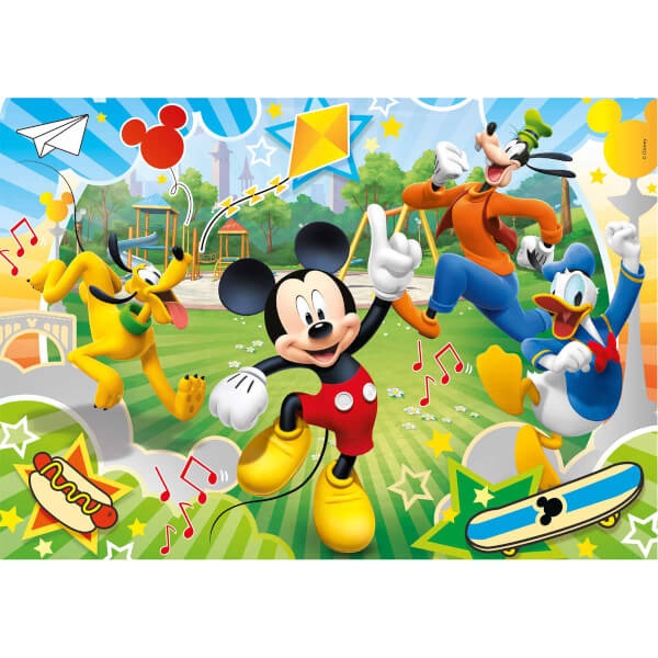 60 Parça Puzzle : Mickey and the Roadster Racers