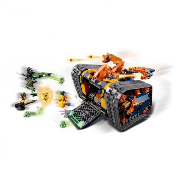 LEGO Nexo Knights Axl'in Yuvarlanan Cephaneliği 72006