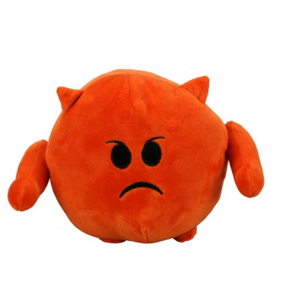 Emoji Kızgın Peluş 18 cm.