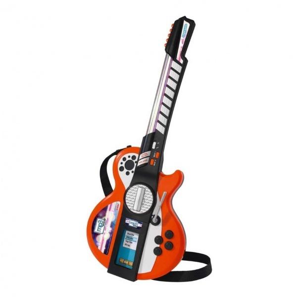 Sesli ve Işıklı MP3 Takılabilir Gitar