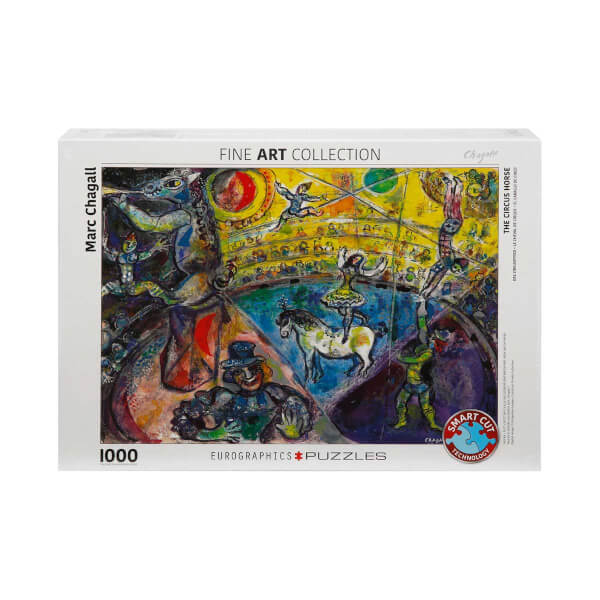 1000 Parça Puzzle: The Circus Horse - Marc Chagall