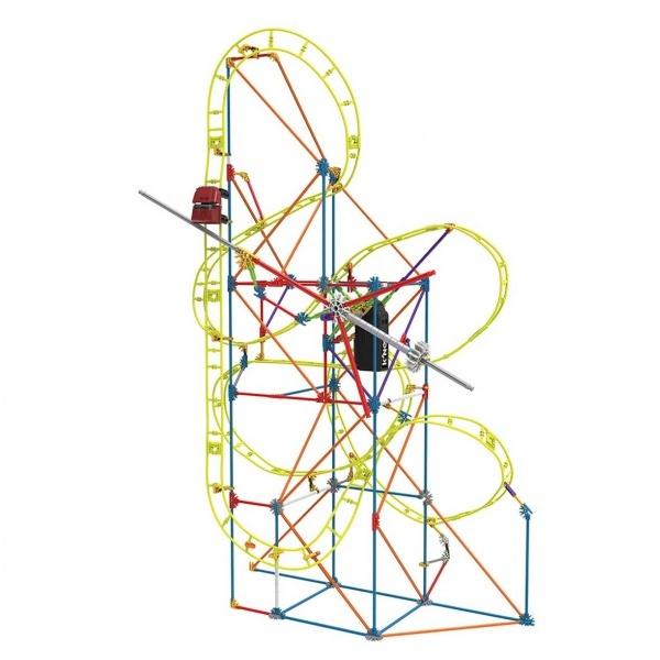 Knex Clock Work Roller Coaster Motorlu Yapım Seti 15406