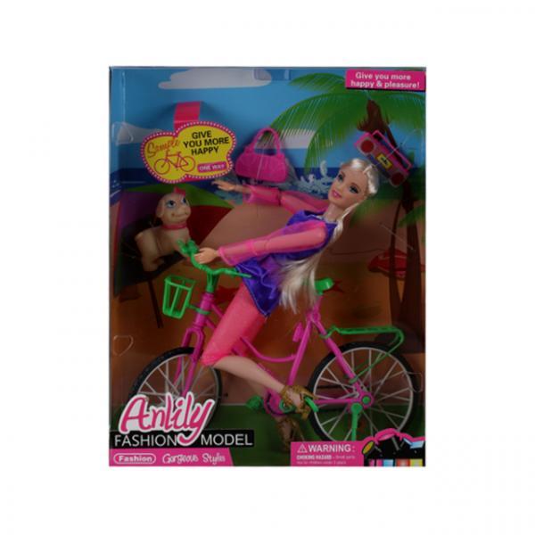 Anlily Bisikletli Bebek