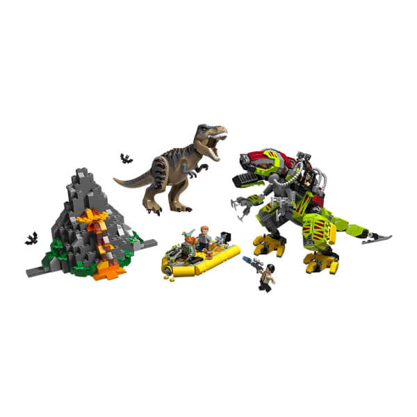 Lego Jurassic World T Rex Ile Dinozor Robotu Savasi 75938 Toyzz