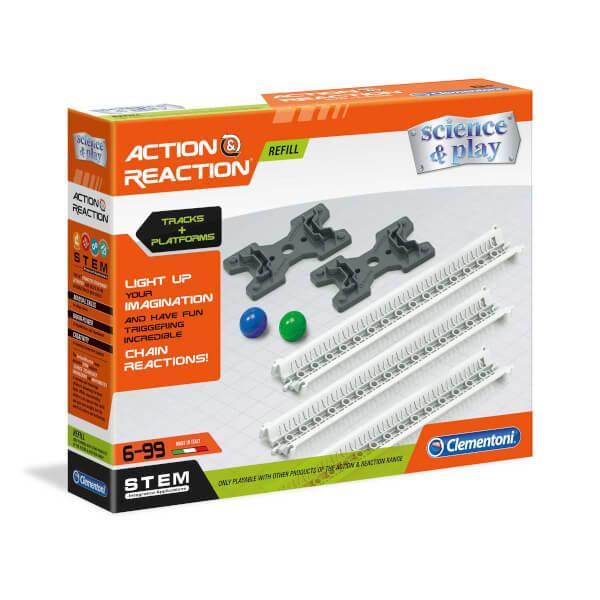 Bilim Seti : Action & Reaction Raylar ve Platformlar