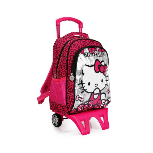 Hello Kitty Çekçekli Okul Çantası 87530