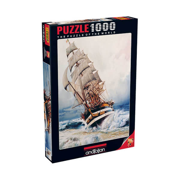 1000 Parça Puzzle : Kara İnci