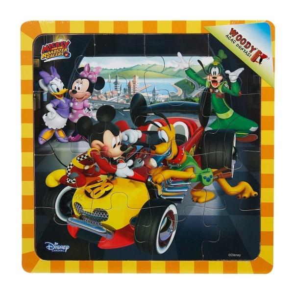 Mickey Mouse Ahşap Puzzle 16 Parça