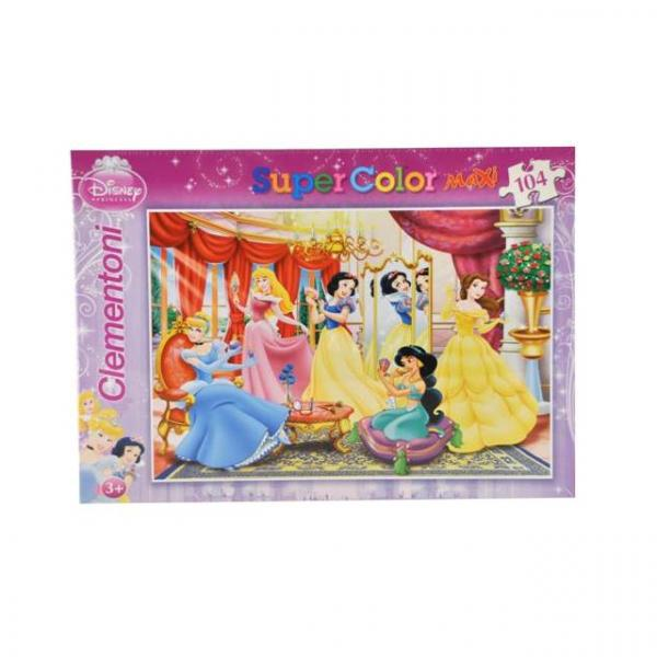 104 Parça Maxi Puzzle : Princess Make Up
