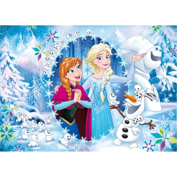 4 in 1 Puzzle : Frozen