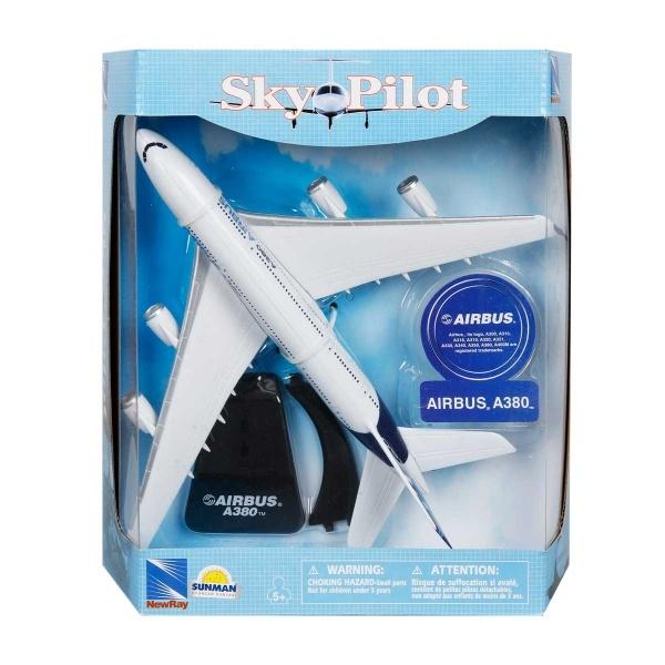 1:100 Sky Pilot Airbus A380 Model Uçak
