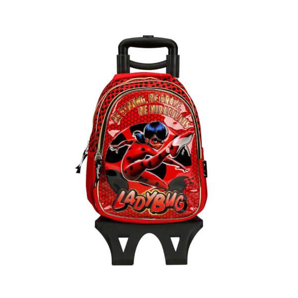 Miraculous Ladybug Çekçekli Okul Çantası 2137