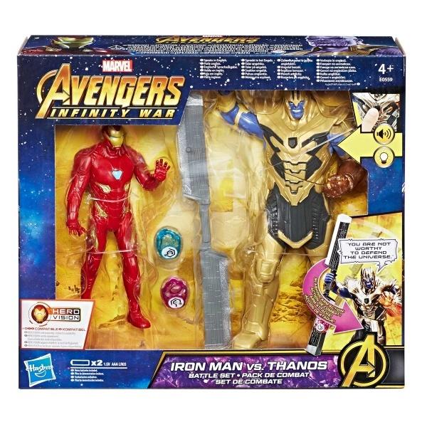 Avengers Infinity War Iron Man vs. Thanos Oyun Seti