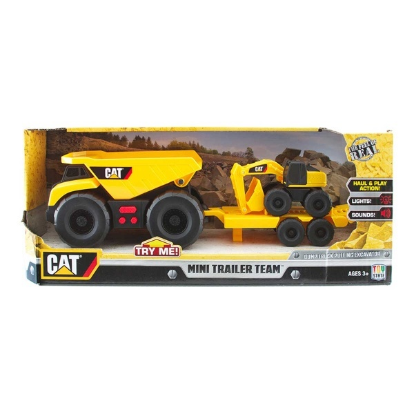Cat Mini Römorklü İş Makinesi