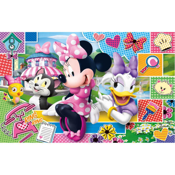 2 x 20 + 2 x 60 Parça Puzzle : Minnie Happy Helper