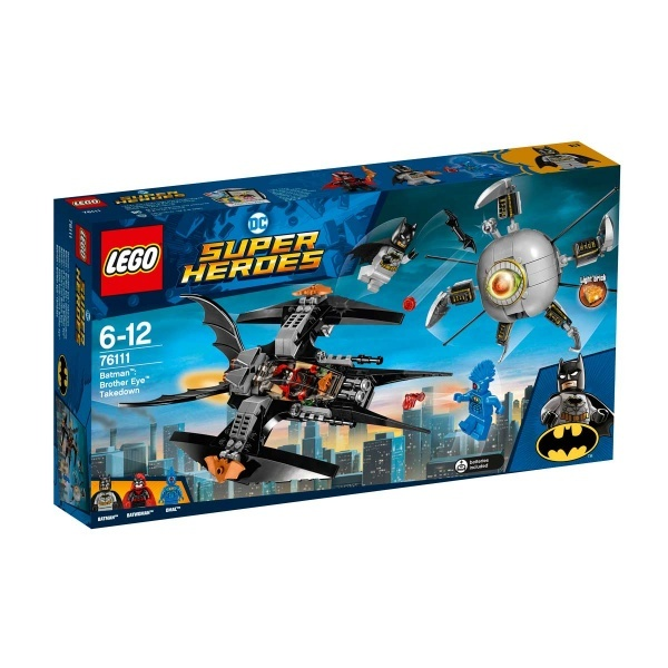 LEGO DC Comics Super Heroes  Batman: Brother Eye Takedown 76111