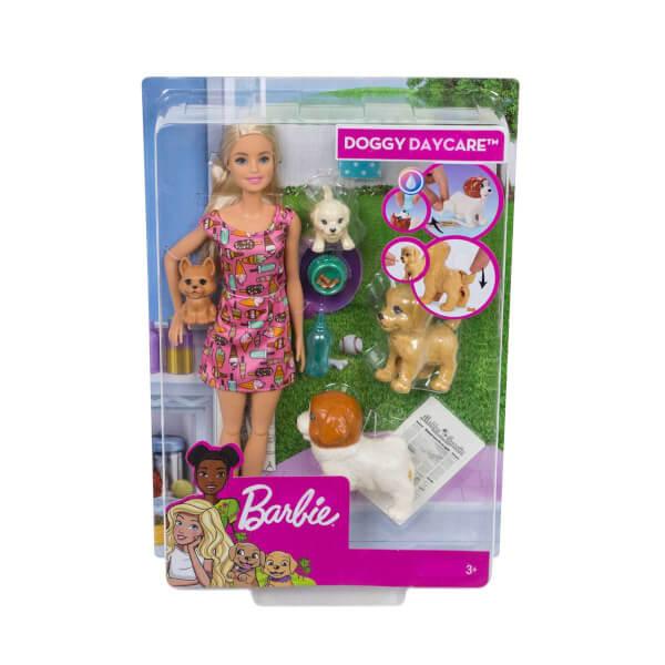 Barbie'nin Sürpriz Özellikli Hayvanları Oyun Seti FXH08