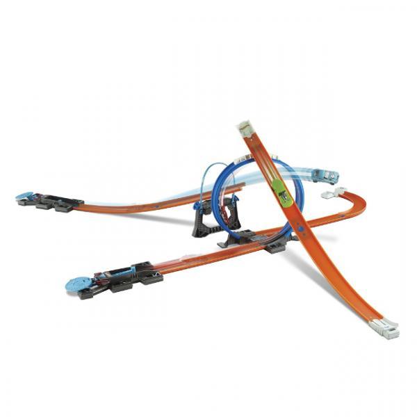 Hot Wheels Track Builder Hızlı Yarış Oyun Seti
