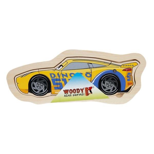 Cars Ahşap Puzzle