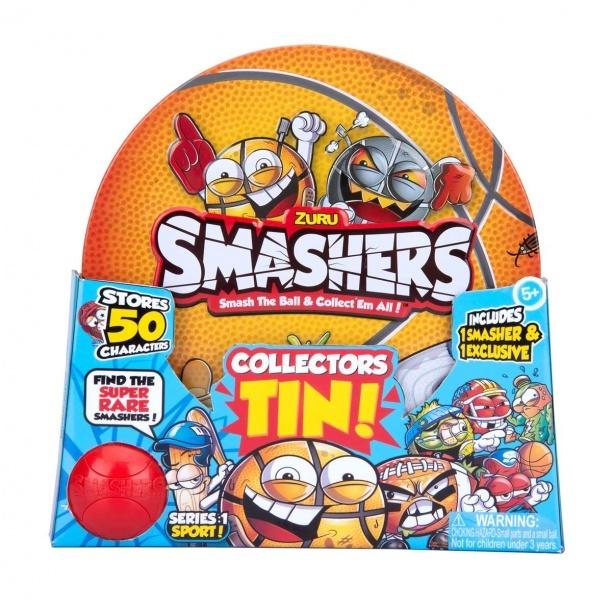 Smashers Basketbol Metal Saklama Kutusu