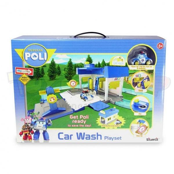 Robocar Poli Araç Yıkama İstasyonu Oyun Seti