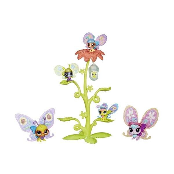 Littlest Pet Shop Süslü Kelebek Miniş Ailesi E2159