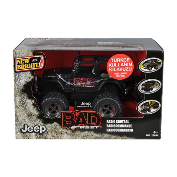 1:20 Uzaktan Kumandalı Bad ST. Jeep Wrangler