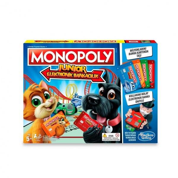 Monopoly Junior Elektronik Bankacılık E1842