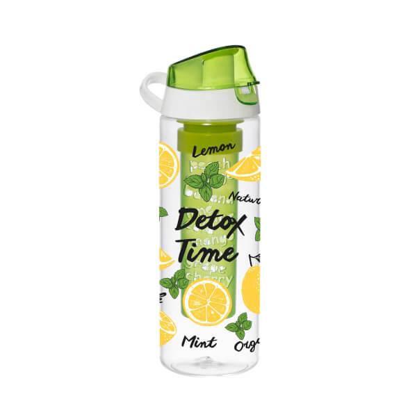 Limon Desenli İnfuserli Detox Matara 650 ml.