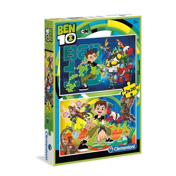 2x20 Parça Puzzle : Ben 10 S.C.