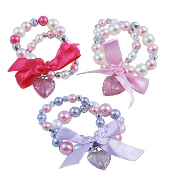 Pink Poppy 2'li Kalpli Bileklik