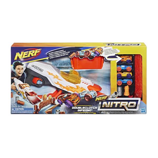 Nerf Nitro Doubleclutch Inferno E0858