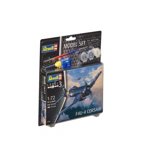 Revell 1:72 F4U-4 Model Set Uçak 63955