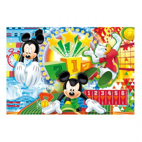 250 Parça Puzzle : Mickey Sport