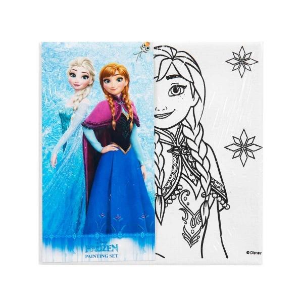 Frozen Tuval Boyama Seti 15 X 15 Cm Anna Toyzz Shop