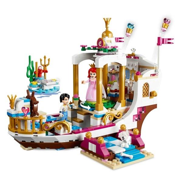 LEGO Disney Princess Ariel'in Kraliyet Kutlama Teknesi 41153